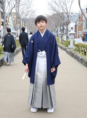 鎌倉 小学生男子 卒業袴 写真20