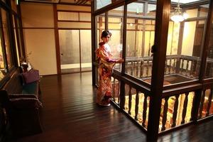 鎌倉成人式写真 鎌倉振袖写真 鎌倉レンタル着物