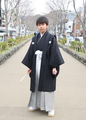 鎌倉 小学生男子 卒業袴 写真27