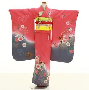 鎌倉七五三 レンタル着物 7歳 1580