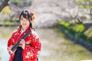 卒業袴 桜ロケーション撮影鎌倉