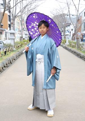 鎌倉 小学生男子 卒業袴 写真15