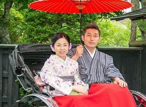 鎌倉 レンタル着物 記念日 写真 夫婦 4