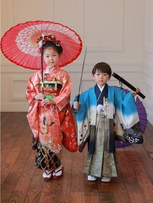 鎌倉七五三写真 七五三スタジオ写真 3歳5歳7歳 鎌倉記念写真