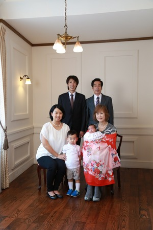 鎌倉お宮参り写真3
