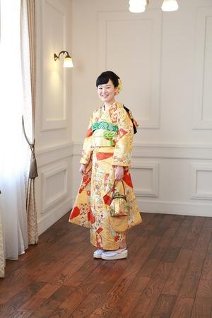 鎌倉成人式振袖1
