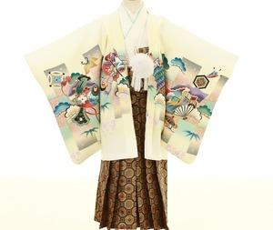 鎌倉七五三 5歳男子 着物レンタル 2198