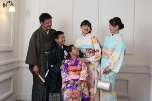 鎌倉家族写真 鎌倉七五三 7歳