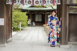 鎌倉宮 成人式振袖 ご祈祷 ロケーションフォト3