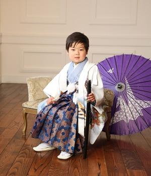 鎌倉家族写真 鎌倉5歳お祝い スタジオ写真