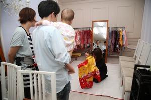 鎌倉3歳お祝い 鎌倉前撮り 七五三衣装