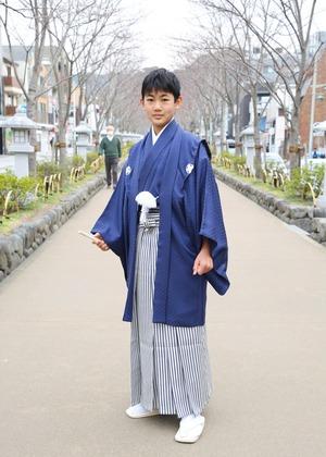 鎌倉 小学生男子 卒業袴 写真25
