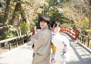 鎌倉散策 着物 カップル 記念日 写真7