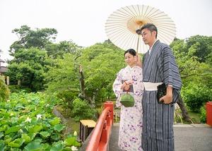 鎌倉 レンタル着物 記念日 写真 夫婦 7