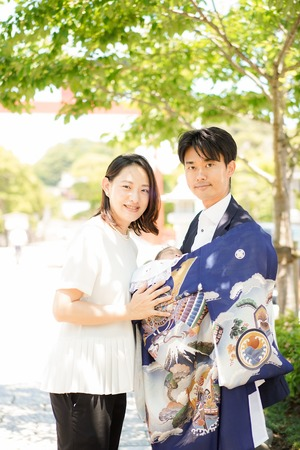 鶴岡八幡宮 お宮参りロケーションフォト 2