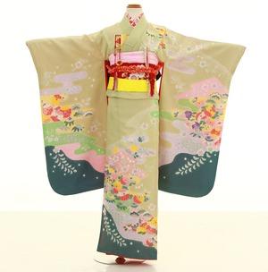 鎌倉七五三 レンタル着物 7歳 1795