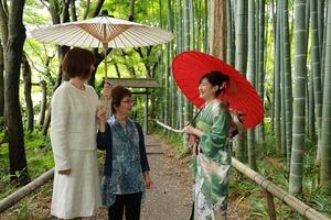鎌倉成人式振袖写真6