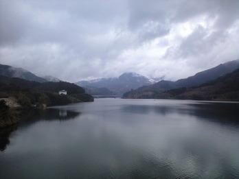170205ダム湖