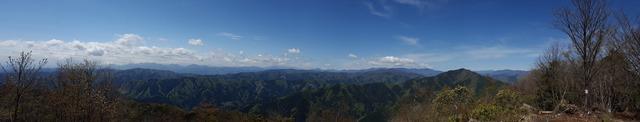 大岳からの展望
