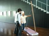 八木ヨシオ石彫展