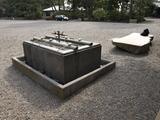 多摩御陵手水鉢