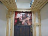 寝室フレーミング6ドアの写真