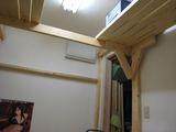 寝室フレーミング3棚