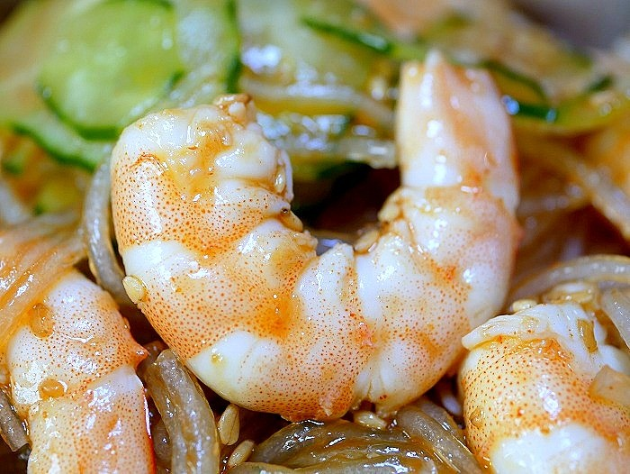 s-海老と春雨の韓国風サラダ2