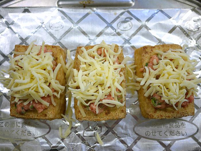 s厚揚げの明太マヨチーズ焼き7