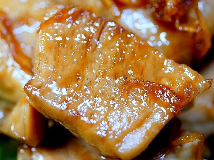 s-マグロの生姜焼き2