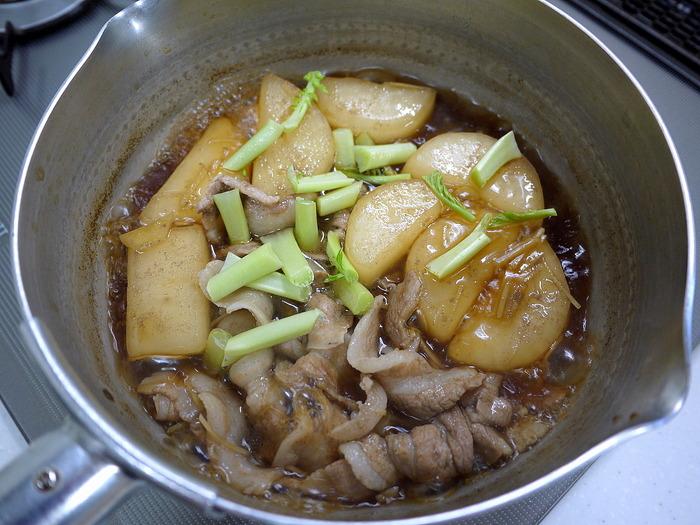 豚バラ肉と大根のめちゃうま煮11