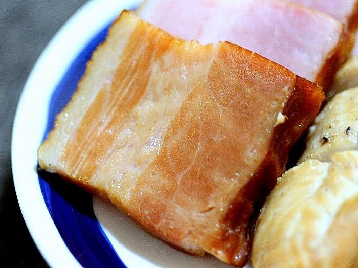 s-鶏ささみ肉とベーコンの燻製2