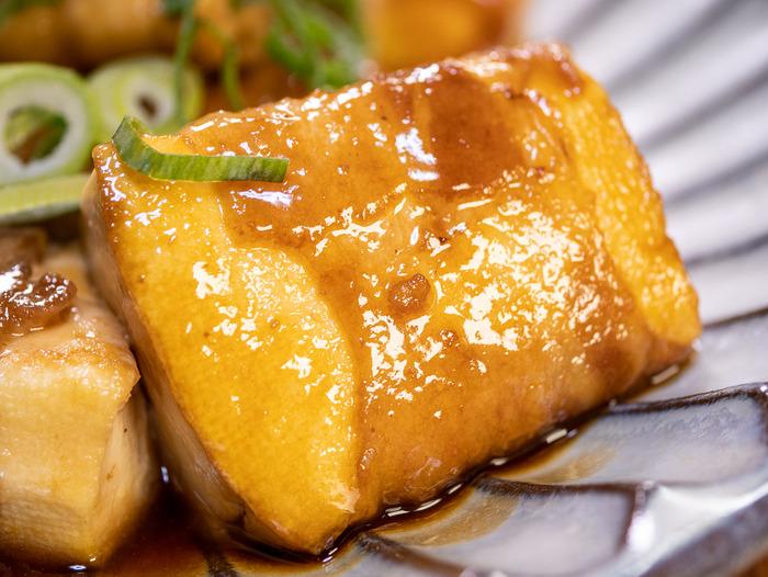 豆腐の豚肉巻き焼き4