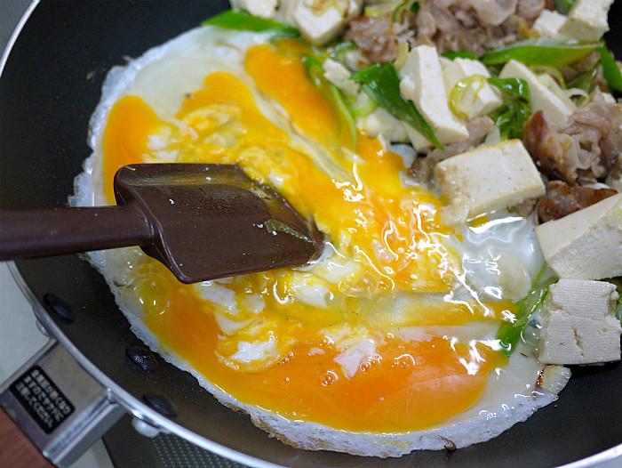 s豆腐と豚肉の塩ネギチャンプル8