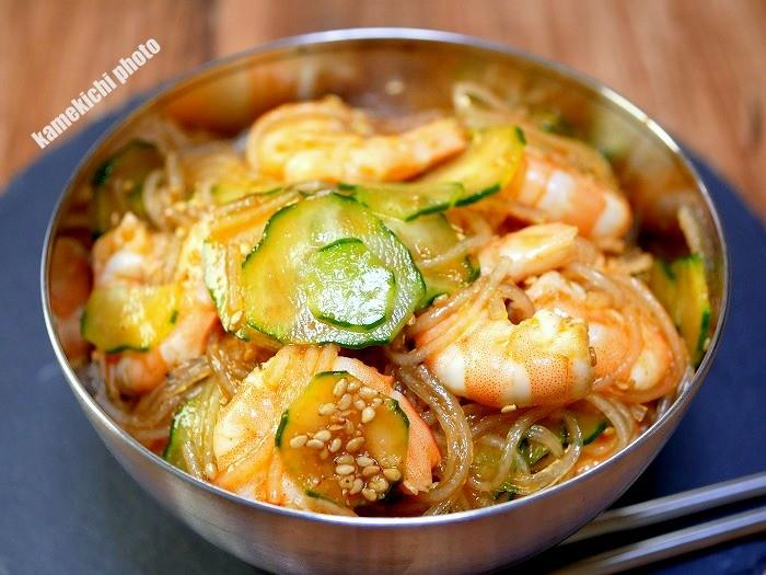 s-海老と春雨の韓国風サラダ1