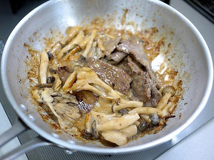s-牛もも肉のオイスタークリーム煮10