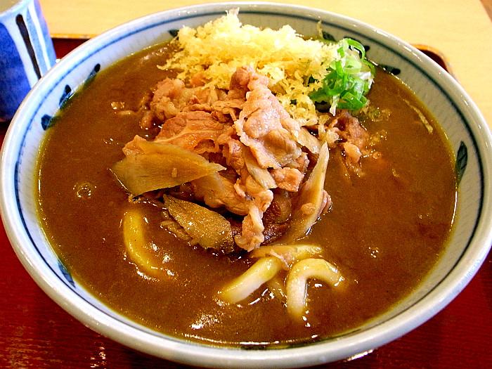s金比羅製麺所 肉カレーうどん1