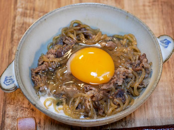 糸こんのすき炒め煮(牛肉入り)13