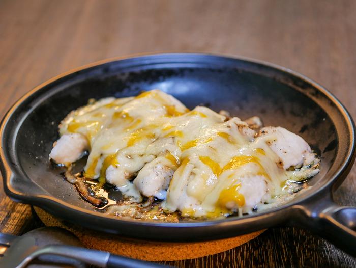 鯛のバルサミコ酢チーズ焼き3