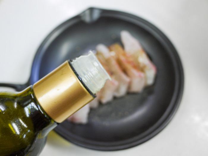 鯛のバルサミコ酢チーズ焼き8