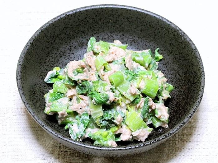 s-高菜のツナマヨ和え3