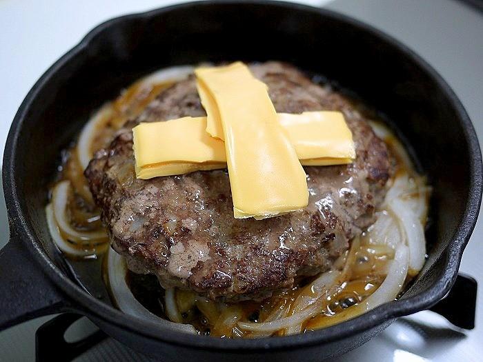 s-牛ひき肉100%ハンバーグ9