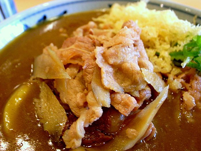 s金比羅製麺所 肉カレーうどん4