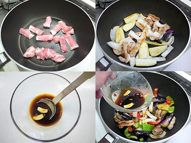 s-豚肉と茄子のスタミナ炒め5