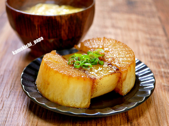 s大根ステーキと大根スープ1