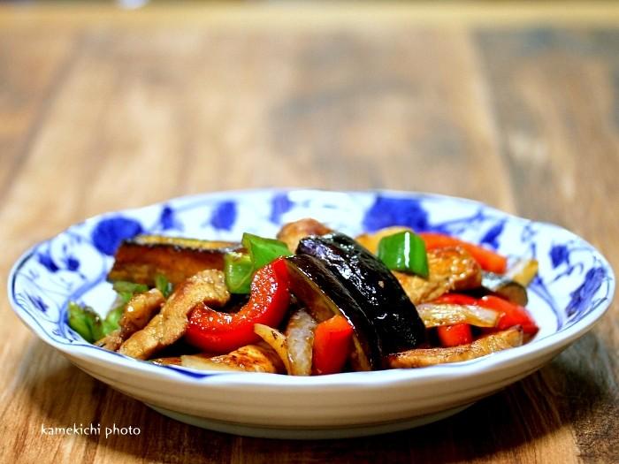 s-豚肉と茄子のスタミナ炒め1