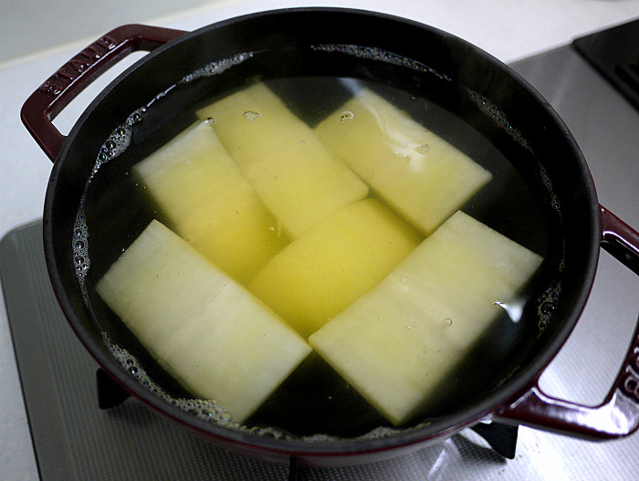 s大根ステーキと大根スープ5