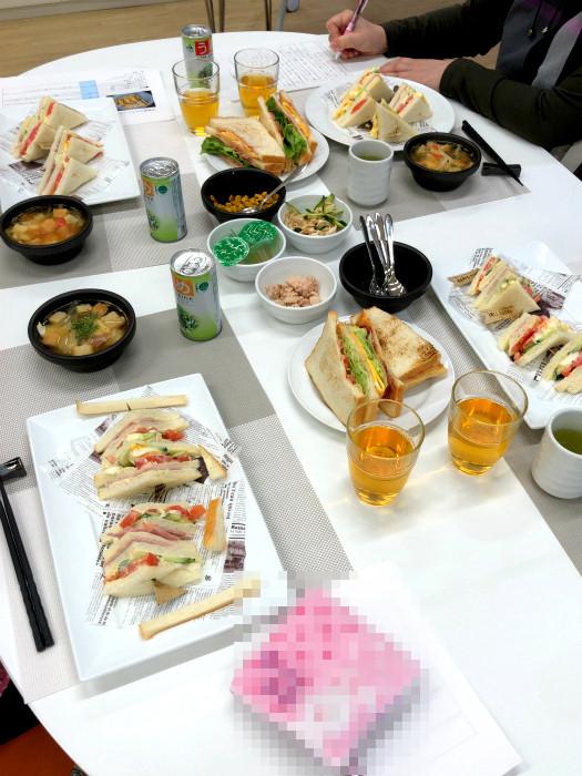 sサンドイッチ料理教室10