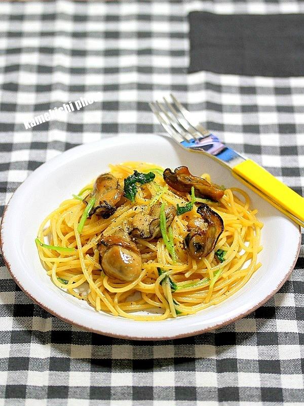 旨味引き立つ「燻製牡蠣のパスタ」&大人のワインバー「ランジュ