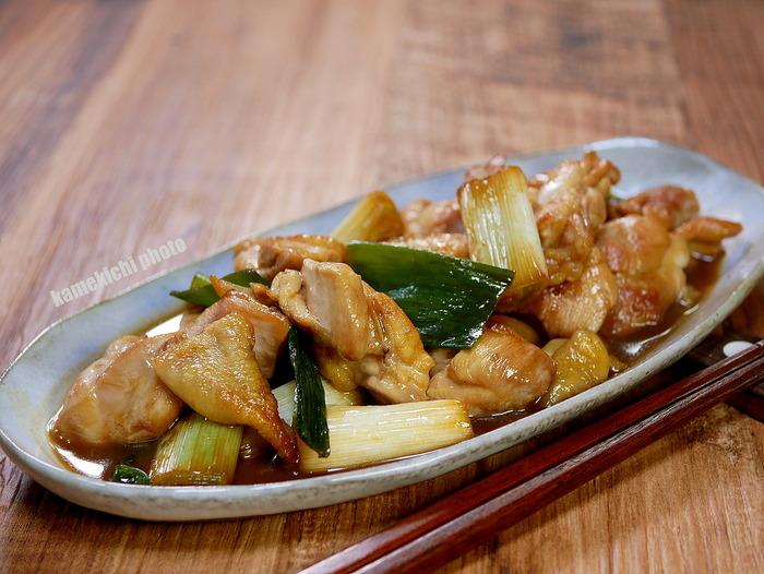 鶏もも肉の焼き鳥炒め1